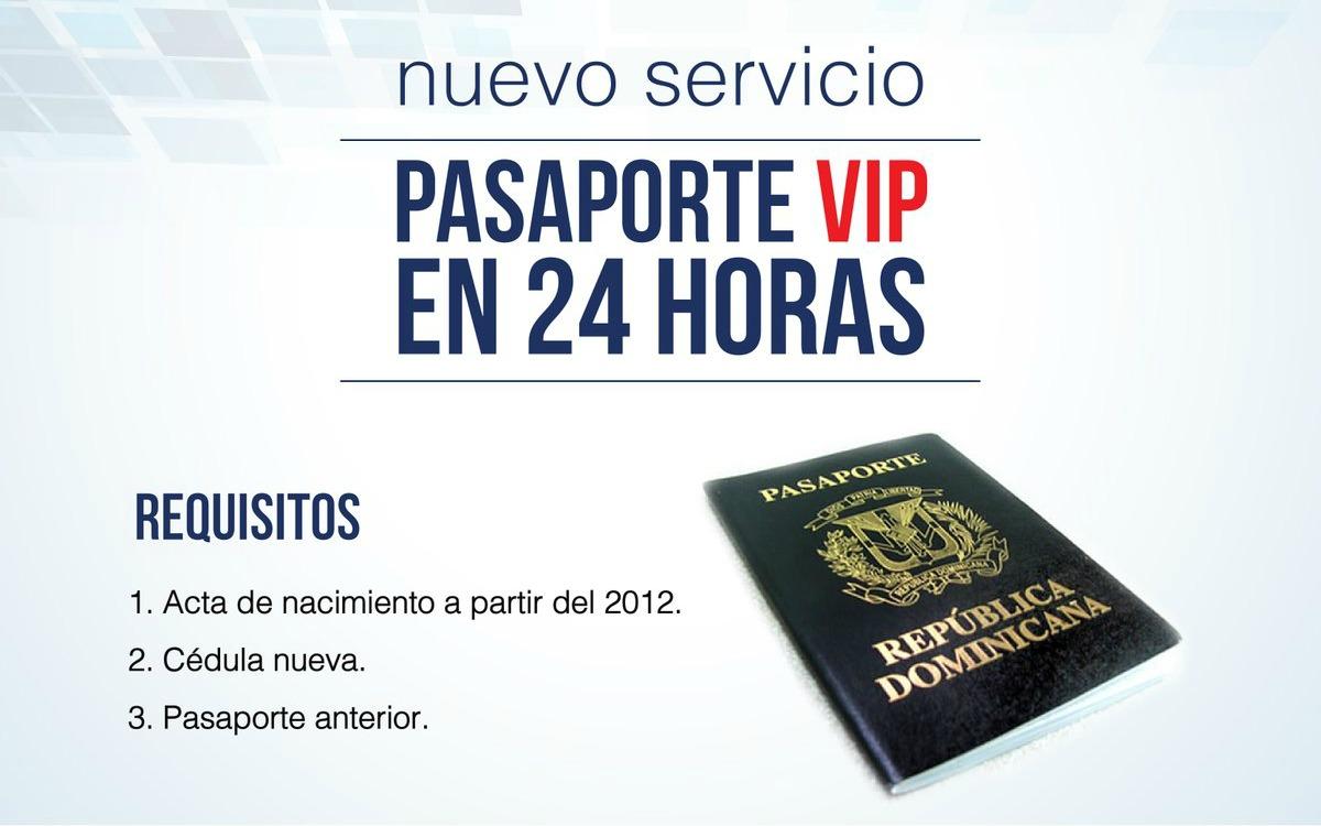 Nuevo servicio VIP en Consulado Dominicano emitirá pasaporte en 24 ...
